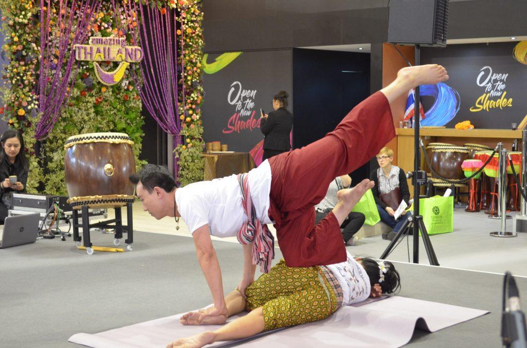 Thai massage in ITB 2018