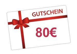 Gutschein 80€